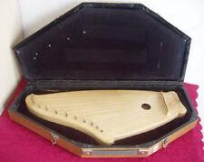 Kantele Flügelkantele Harfe Zither mit Koffer / Zupfinstrument