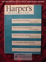 HARPER'S February 1950 PETER F. DRUCKER JOYCE CARY VICTOR WOLFSON