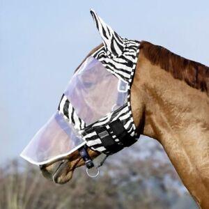 USG Fly Mask, Zebra Fly Mask, Fly Mask with Nose, Pony, Cob, Full, Free P&P