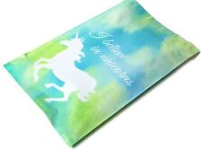 New listing (20) Blue Unicorn Print 10 x 13 Poly Mailers Self Sealing Envelopes Bags Color