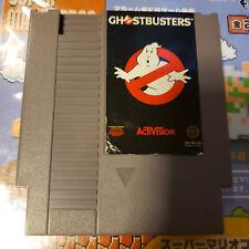 Ghostbusters Nes (Nintendo) Game.