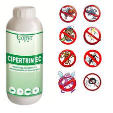 CIPERTRIN EC COPYR 1L- CIPERMETRINA INSETTICIDA MOSCHE BLATTE ZANZARE VESPE