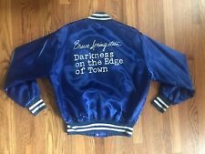 Bruce Springsteen Original Tour Jack Darkness On The Edge Of Town Mens XL Blue