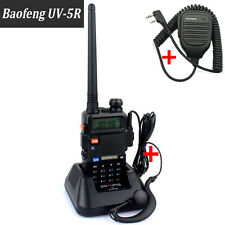 Baofeng UV-5R Dual Band Handhel Radio Walkie Talkie+Speaker Home inter-com/Phone