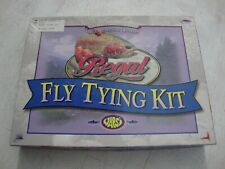 NEW NOS Regal Fly Tying Kit w/ Vice, Tools, Supplies, Accessories & Extras