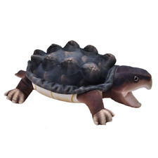 """Wild Republic Living Stream Snapping Turtle 24"""" Realistic Soft Plush Toy"""