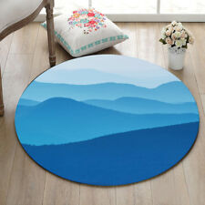 Blue Mountains Area Rug Non-slip Floor Mat Living Room Bedroom Home Decor Carpet