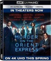 Murder On The Orient Express [New 4K UHD Blu-ray] With Blu-Ray, 4K Mastering,