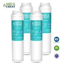 AQUACREST FQSVF Replacement for GE FQSVF GXSV65R Water Filter 2 Set (4 Filters)
