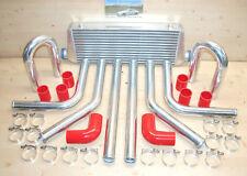 Ladeluftkühler SET *NEU* 33tlg Kit: LLK 45x23,Rohre 57 mm,Sch.,Bögen,Schläuche r