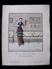 Drésa Ah ! Le Beau Guignol...  Gazette bon ton Noël 1913 pl VIII  Doucet