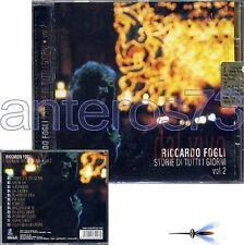 "RICCARDO FOGLI ""DAL VIVO VOL.2"" RARO CD - I POOH"
