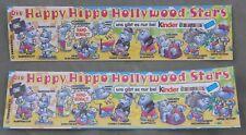 Bpz avec Coupe et , Facile Happy Hippo Hollywood 1997 Variante Pièce Unique Ueei