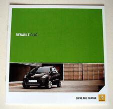 Renault . Clio . Renault Clio . April 2011 . Sales Brochure