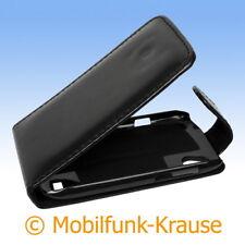 Funda abatible, funda, estuche, funda para móvil F. HTC Desire V (negro)