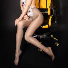 Women Sexy High Waist Tights Oil Shine Glossy Shape Body Pantyhose Stockings