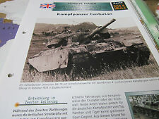 Archiv Militärfahrzeuge Panzer 23.1 Centurion England