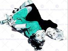Pintura Escena del Crimen Ilustración secuestrado Mujeres Atado amordazados cartel CC6542