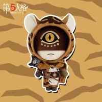 Identity V Original Survivor Eli Clark Seer Plush Doll Toy Tiger Skin Clothes