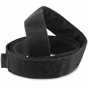 BULLDOG HOOK & LOOP TACTICAL BELT BLACK Police Security Uniform Trouser Belt