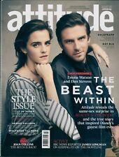 Attitude - Issue 281 - Emma Watson & Dan Stevens cover
