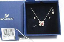 Swarovski Billy Clover Set, Clover Lady Bug Pendant/Earrings Crystal - 5086250