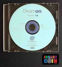 SEGA DREAMCAST DREAM ON DEMO DISC VOLUMEN 14