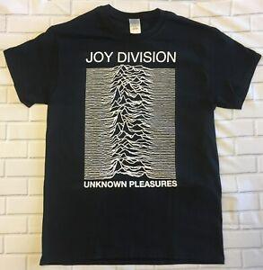 Joy Division /'Unknown Pleasures/' T-Shirt NOUVEAU ET OFFICIEL! Black