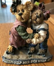 Boyds Bears & Friends The Bearstone Collection Sisters Help Hold Each Other Up