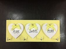 Home Sweet Home Key Holder Plaque