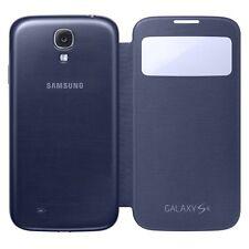 Samsung Galaxy S4 S-View Flip Cover Folio Case (Navy Blue)