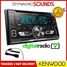 Kenwood DPX7100DAB Double Din Car CD Stereo Bluetooth USB iPod iPhone DAB Aerial