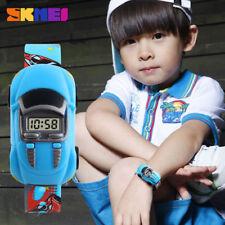 Sports Digital Children Kids Cartoon Car Toy Watch Boy GIrl Date Wrist Watch