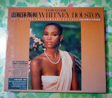 Whitney Houston Deluxe anniversary edition / Taiwan album CD+DVD SEALED