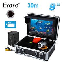 EYOYO 30m 9 inch LCD IR LED Unterwasser Video DVR Kamera Fisch Finder mit 8 GB