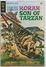 KORAK, SON OF TARZAN #34 - Gold Key
