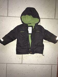 Kinder Jacke Winter Mantel Sanetta Authentic Style Gr. 80 grau