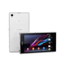 5.0'' Sony Ericsson Xperia Z1 C6903 16GB LTE  Android White Cellphone - 20.7MP