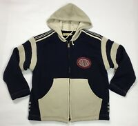 Replay felpa tuta vintage cappuccio usato uomo retro giacca jacket sport T3217