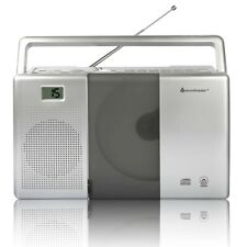 soundmaster Tragbarer CD-Player mit Hörbuchfunktion CD-R, CD-RW