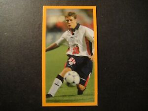 MICHAEL OWEN ROOKIE LIVERPOOL ENGLAND  1997 CANDY CARD WORLD HEROES