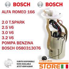 ALFA ROMEO 166 2.0 T.SPARK 2.5 3.0 3.2 V6 POMPA BENZINA BOSCH 0580313076 72139