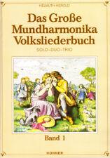 Das Mundharmonika Volksliederbuch 1 Songbook Noten