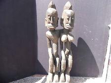 "Arts of Africa - Dogon Couple - Mali - Burkina Faso - 30"" Height x 9"" Height"