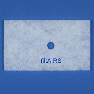 5 Filter Ersatzfilter Staubfilter für Lunos Lüfter LRK LRA LRK2 2/SF