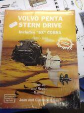 SELOC Volvo penta stern drive 1992-1995 INCLUDES SX COBRA repair manual VOL3
