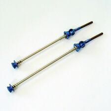 gobike88 MR. CONTROL QR-SPOT Titanium Carbon Skewers, QR, MTB, Blue, A92