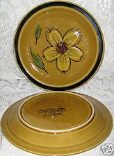 HONEY FLOWERS JAPAN STONEWARE DESSERT/BREADPLATE 7 1/2""