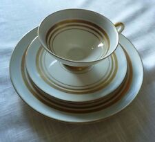 Alka Bavaria Tea Cup, Plate & Saucer.  #932 6 Lots of Gold