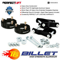 "Fits Toyota Hilux 2015-2019 3""F and 2""R Suspension Lift Kit+greasable shackle"